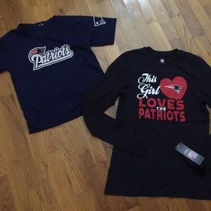 Girls Patriots Shirts